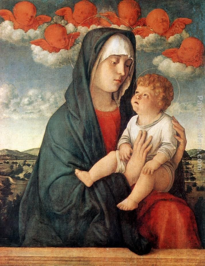 Giovanni Bellini Madonna of Red Angels