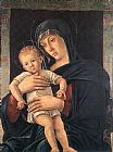 Giovanni Bellini Madonna with the Child painting