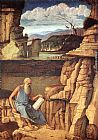 Giovanni Bellini St. Jerome Reading in the Countryside painting