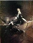 Giovanni Boldini Consuelo, Duchess of Marlborough, with Her Son Ivor Spencer-Churchill painting