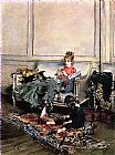 Giovanni Boldini Peaceful Days painting