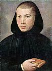 Giovanni Francesco Caroto Portrait of a Young Benedictine painting