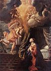 Giovanni Lanfranco The Annunciation painting