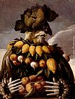 Giuseppe Arcimboldo The Seasons Pic 1 painting
