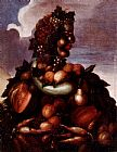 Giuseppe Arcimboldo The Seasons Pic 3 painting