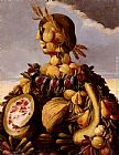 Giuseppe Arcimboldo The Seasons Pic 4 painting