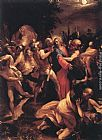 Giuseppe Cesari The Betrayal of Christ painting