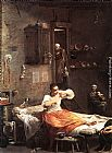 Giuseppe Maria Crespi Searcher for Fleas painting