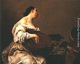 Giuseppe Maria Crespi The Scullery Maid painting