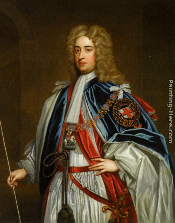 Godfrey Kneller Portrait of Lionel Sackville