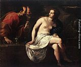 Guido Cagnacci Susanna and the Elders painting
