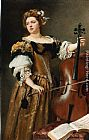 Gustave Jean Jacquet The Cello painting