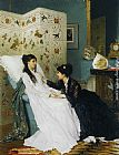 Gustave Leonhard de Jonghe The Convalescent painting