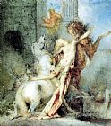 Gustave Moreau Diomedes Devoured by his Horses painting