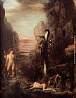 Gustave Moreau Hercules and the Hydra painting