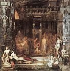 Gustave Moreau The Daughters of Thespius painting