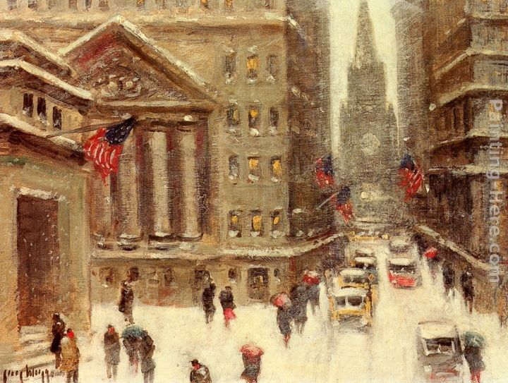 Guy Carleton Wiggins Winter, New York