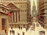 Guy Carleton Wiggins Winter, New York painting