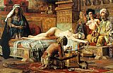 Gyula Tornai In the Harem painting