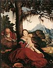 Hans Baldung Rest on the Flight to Egypt painting