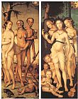 Hans Baldung Three Ages of Man and Three Graces painting