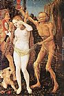 Hans Baldung Three Ages of the Woman and the Death painting