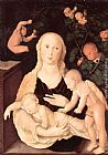 Hans Baldung Virgin of the Vine Trellis painting