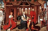 Hans Memling Adoration of the Magi painting