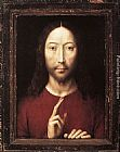 Hans Memling Christ Giving His Blessing painting