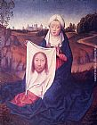 Hans Memling St. Veronica painting