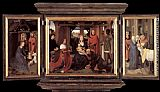Hans Memling Triptych of Jan Floreins painting
