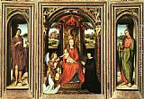 Hans Memling Triptych painting