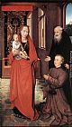 Hans Memling Virgin and Child with St Anthony the Abbot and a Donor painting