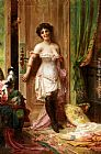 Hans Zatzka Anticipation painting