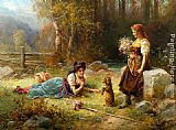 Hans Zatzka Obedience painting