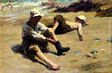 Harold Harvey After The Swim painting