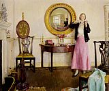 Harold Harvey The Favourite Necklace painting