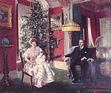 Harry Roseland Christmas Morning painting