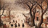 Hendrick Avercamp Winter Landscape painting