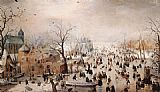 Hendrick Avercamp Winter painting