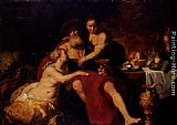 Hendrick Bloemaert Lot And His Daughters painting