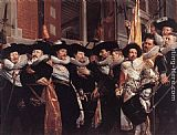 Hendrick Gerritsz Pot Officers of the Civic Guard of St Adrian painting