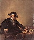 Hendrick Gerritsz Pot The Miser painting
