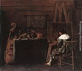 Hendrick Gerritsz Pot The Painter in his Studio painting