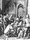 Hendrick Goltzius Circumcision in the Church of St Bavo at Haarlem painting