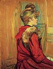 Henri de Toulouse-Lautrec Girl in a Fur, Mademoiselle Jeanne Fontaine painting