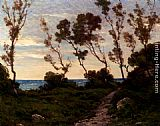 Henri-Joseph Harpignies Path To The Sea painting