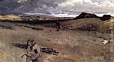 Henry Farny The Toilers of the Plains painting