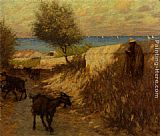 Henry Herbert La Thangue Provencal Lane Martigues painting