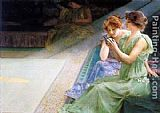 Henry Siddons Mowbray Iridescence painting